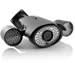 Caméra IP vidéosurveillance avec vision de nuit
